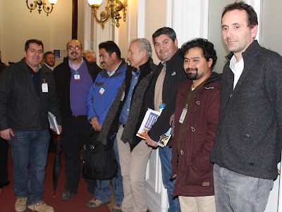 CTMIN continúa exponiendo temáticas de los trabajadores de la minería ante parlamentarios