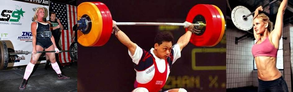 Entrenamiento con pesas, powerlifting y weightlifting (halterofilia)