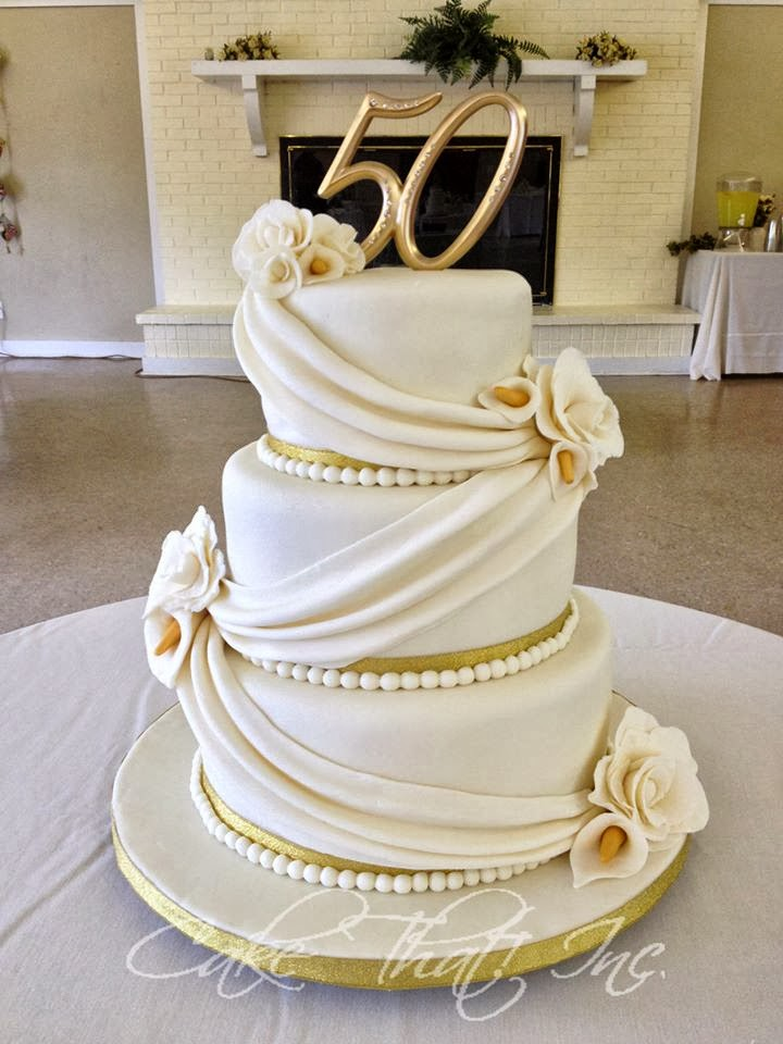 cake that inc 50th wedding anniversary. Black Bedroom Furniture Sets. Home Design Ideas