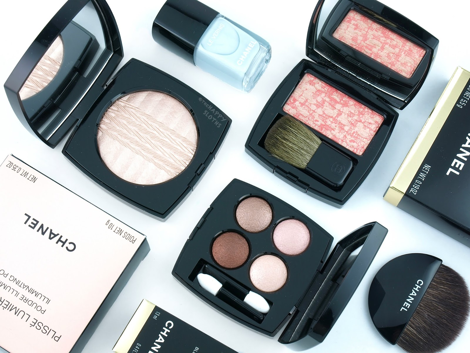 Chanel Spring 2017 Énergies et Puretés Collection: Review and Swatches