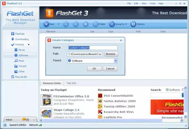 تحميل برنامج  Flashget في اصداره الاخير