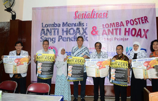 Lomba Menulis Anti Hoax HUT PGRI (Periode November 2017)