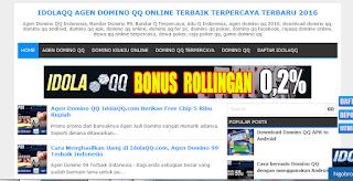 Agen Bandar Q Domino Poker Online Terpercaya 2016