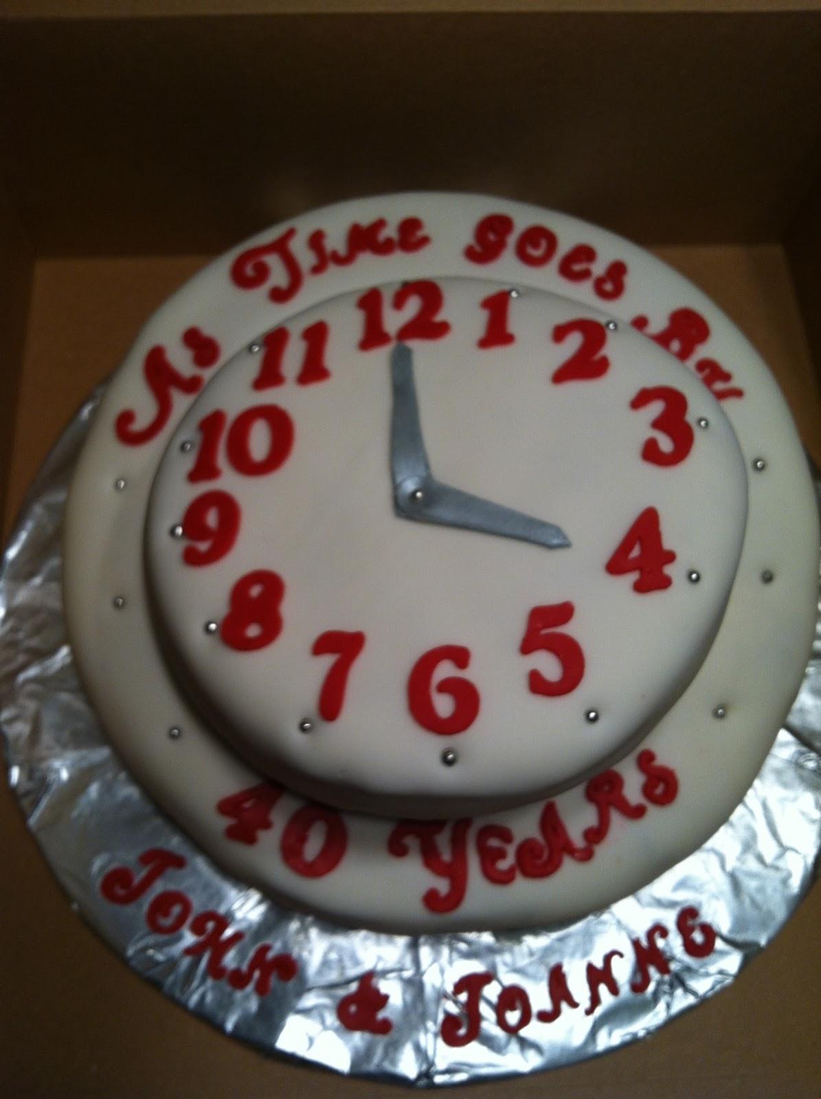 Clock Cake Cake Ideas And Designs