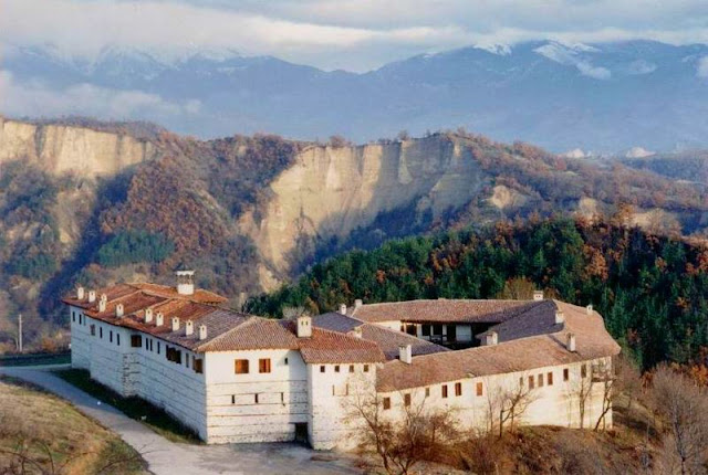 Monasterio Rozhen Bulgaria