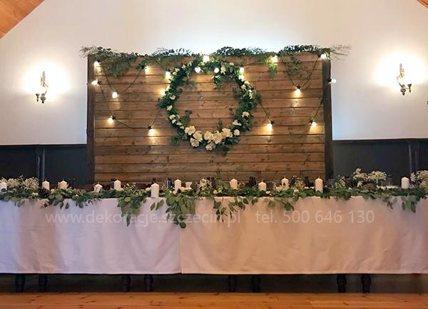 Dekoracja ślubna W Stylu Rustykalnym Blog ślubny Organizacja I