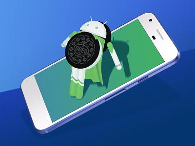 sistema operativo android  oreo