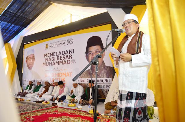 Presiden PKS : Rasulullah SAW Teladan Berkhidmat