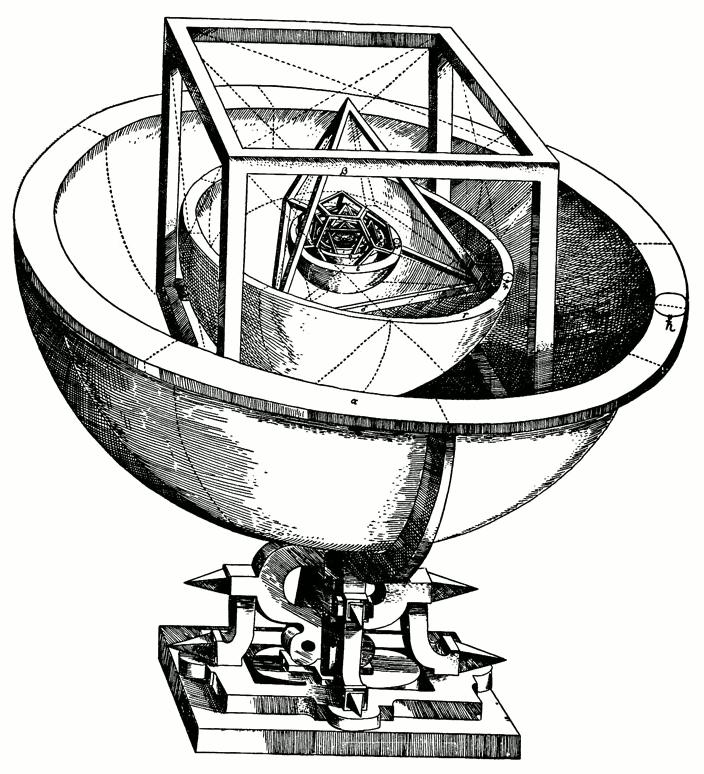«Кубок Кеплера»: модель Солнечной системы