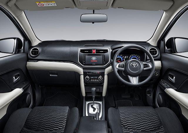 Rò rỉ nội thất của Toyota Rush năm 2018 ảnh 2