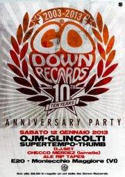 I 10 anni della Go Down Records all' E20
