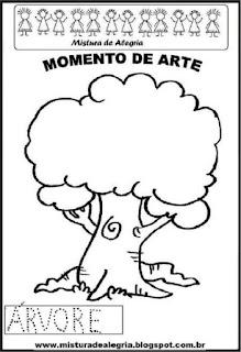 Projeto Pátria, desenho de árvore
