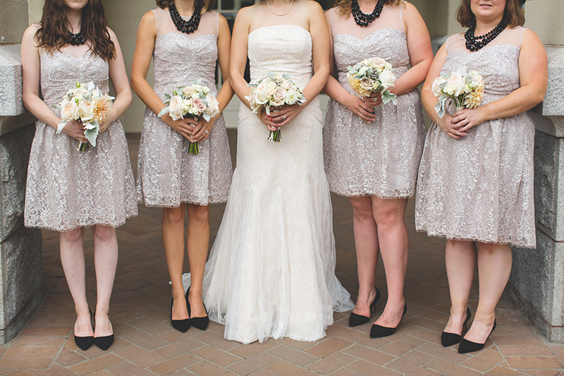 Simple bridesmaid dresses via Modcloth