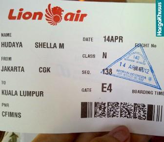 Harga Tiket Lion Air