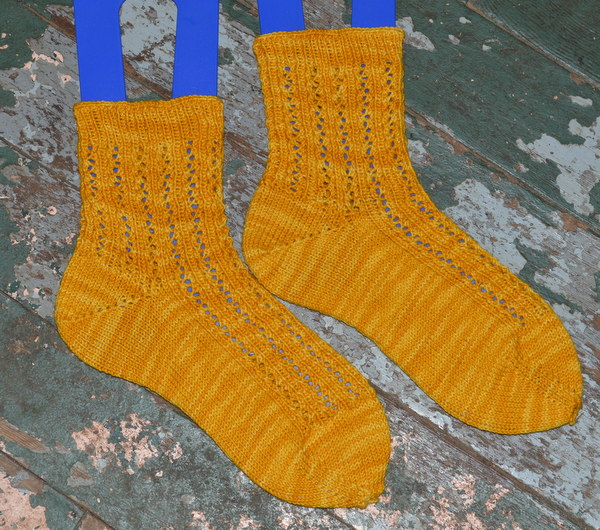 Compass Socks - KnitPicks Hawthorne