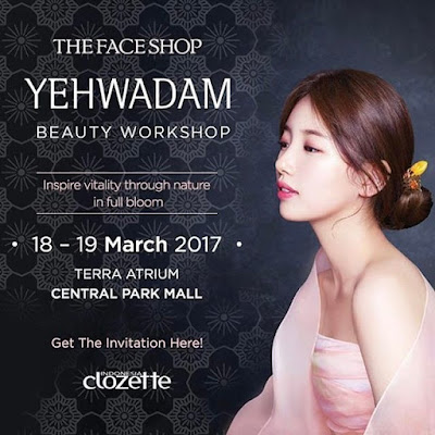 The Face Shop X Clozette Indonesia : Yehwadam Beauty Workshop