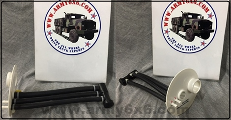 Complete set Pioneer strap tool rack on M35A2 M35A3 M818 military trucks