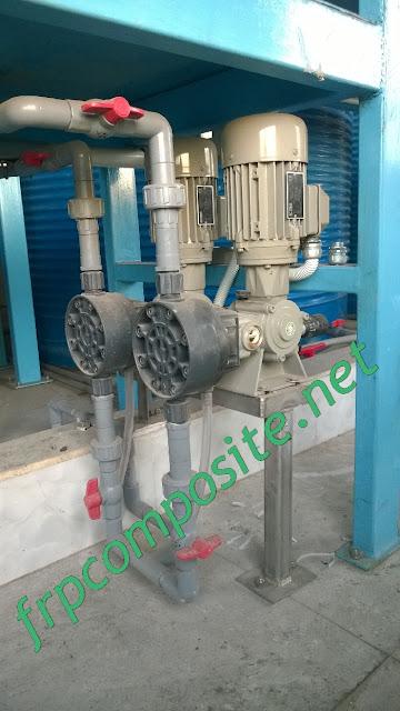 Bơm định lượng hệ thống nước thải