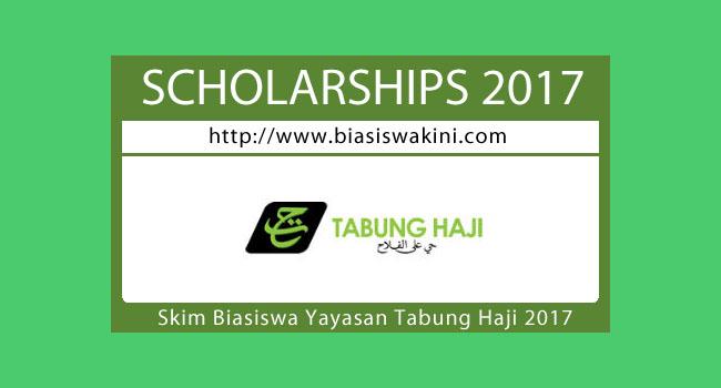Biasiswa Yayasan Tabung Haji 2017