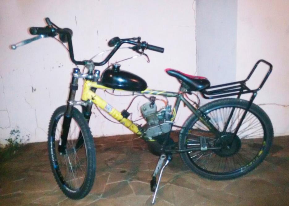 PM surpreende furtadores de bicicleta
