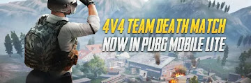 PUBG Mobile Lite Update | Team Deathmatch Modes