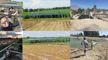 Agriculture Secretary Manny Piňol Shows off Solar-powered Irrigation System!