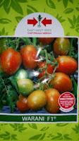 Benih, Warani,tomat, tahan virus,kuning, keriting, unggul, dataran rendah, tinggi, petani, Tomat Warani murah, Cap Panah Merah