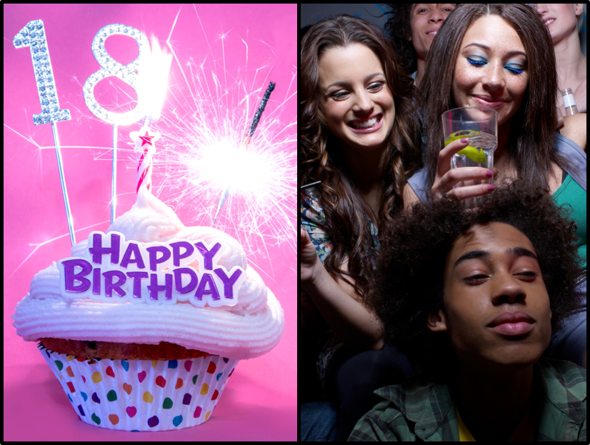 How do you best handle the 'alcohol issue' at an 18th birthday when there  will be many underage young people present?