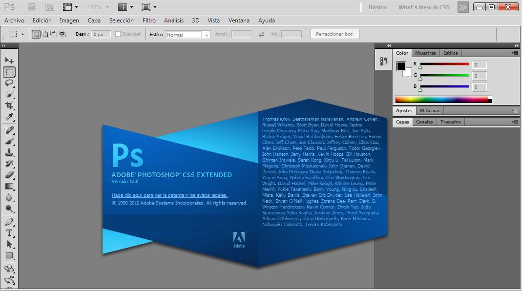 Adobe Photoshop CS5 full español