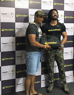 Meet and Greet with World Champion Anoop Singh at HyperCITY