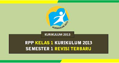 RPP Kelas 1 Semester 1 Kurikulum 2013 Revisi 2019