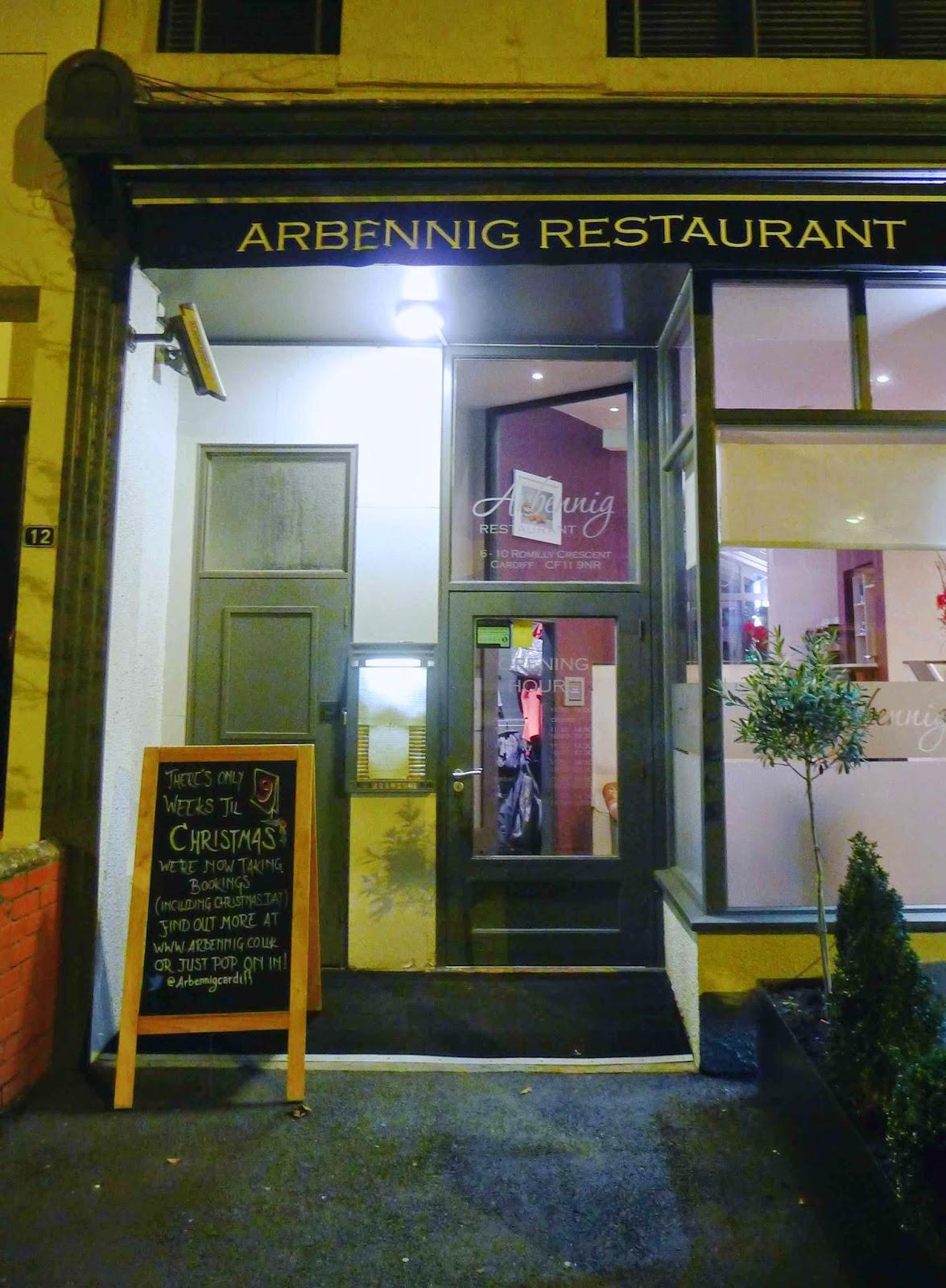Arbennig Restaurant Reviews