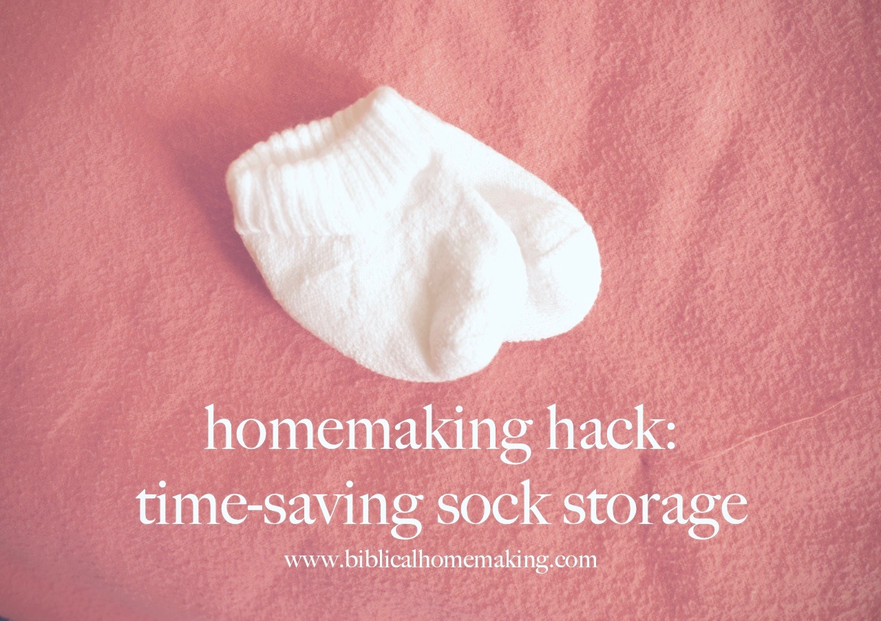 Homemaking Hack Sock Storage For The Whole Family