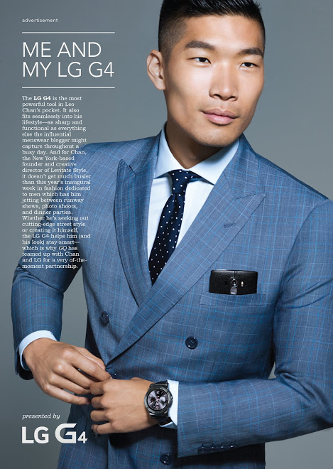 Leo Chan For GQ Magazine/LG G4 Phone Ad