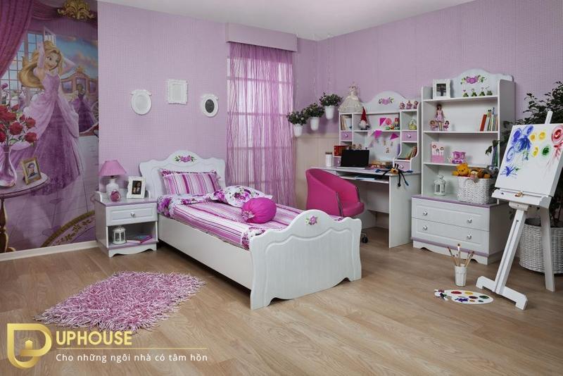 Phòng ngủ tân cổ điển 03