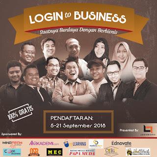 login bisnis indonesia