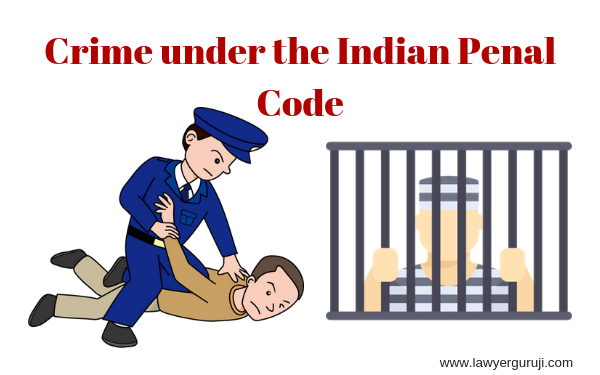 भारतीय दंड संहिता के अधीन अपराध और इन अपराधों में दी जाने दी जाने वाली सजा।