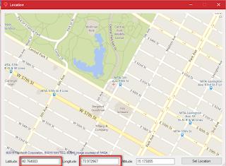 Cara setting lokasi pokecrot terbaru