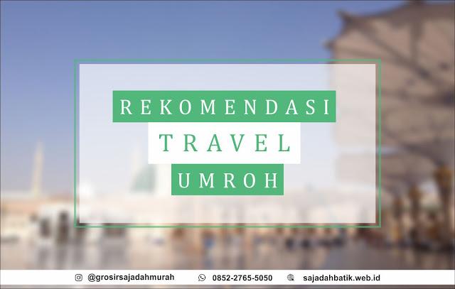 rekomendasi travel umroh, sajadah batik