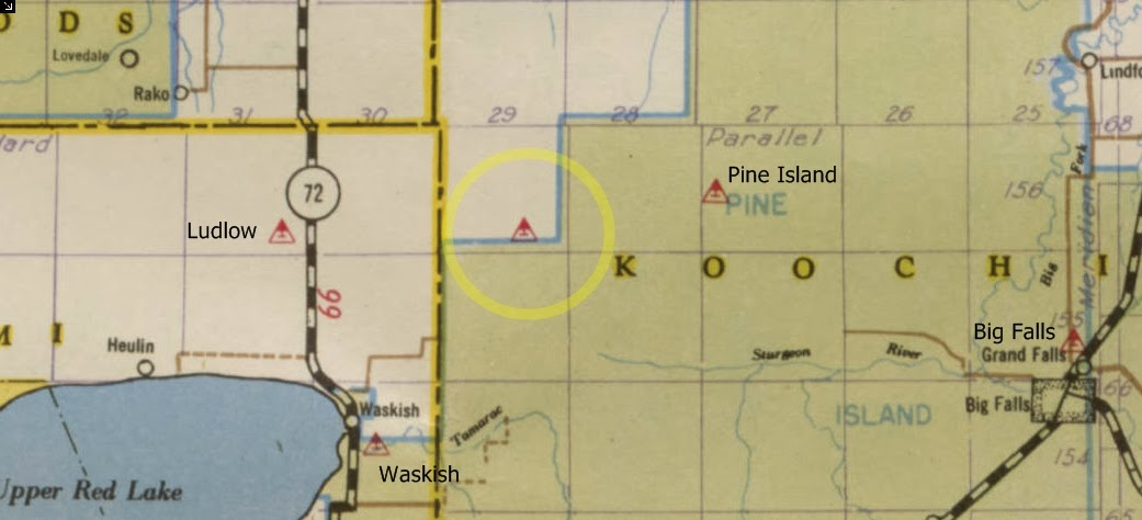Minnesota\'s Historical Fire Lookout Towers: Where is west Pine Island?