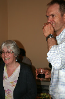 Gabe and Holly enjoy a laugh at last year's Galillee Choir Retreat in Arnprior