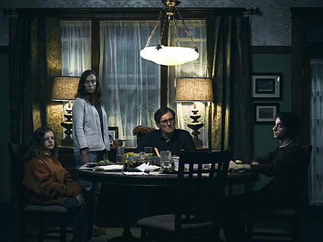 Milly Shapiro, Toni Collette, Gabriel Byrne, Alex Wolff - Hereditary (2018)