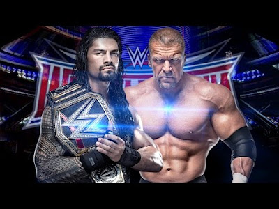 Triple H Vs Roman Reigns Wrestlemania 2016 Match Results