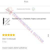 Testimoni Pembelian Flashdisk Pulpen FDPEN07