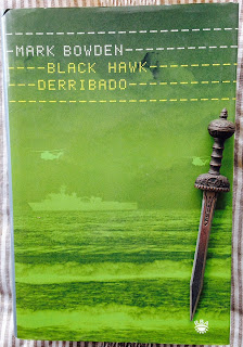 Portada del libro Black Hawk derribado, de Mark Bowden