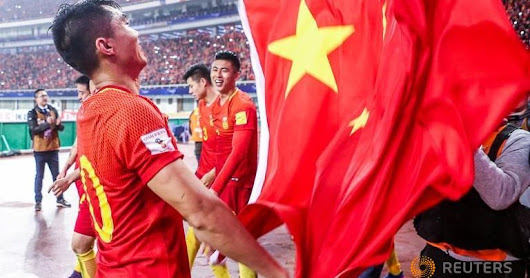 China beats South Korea in a 'politically' significant soccer match