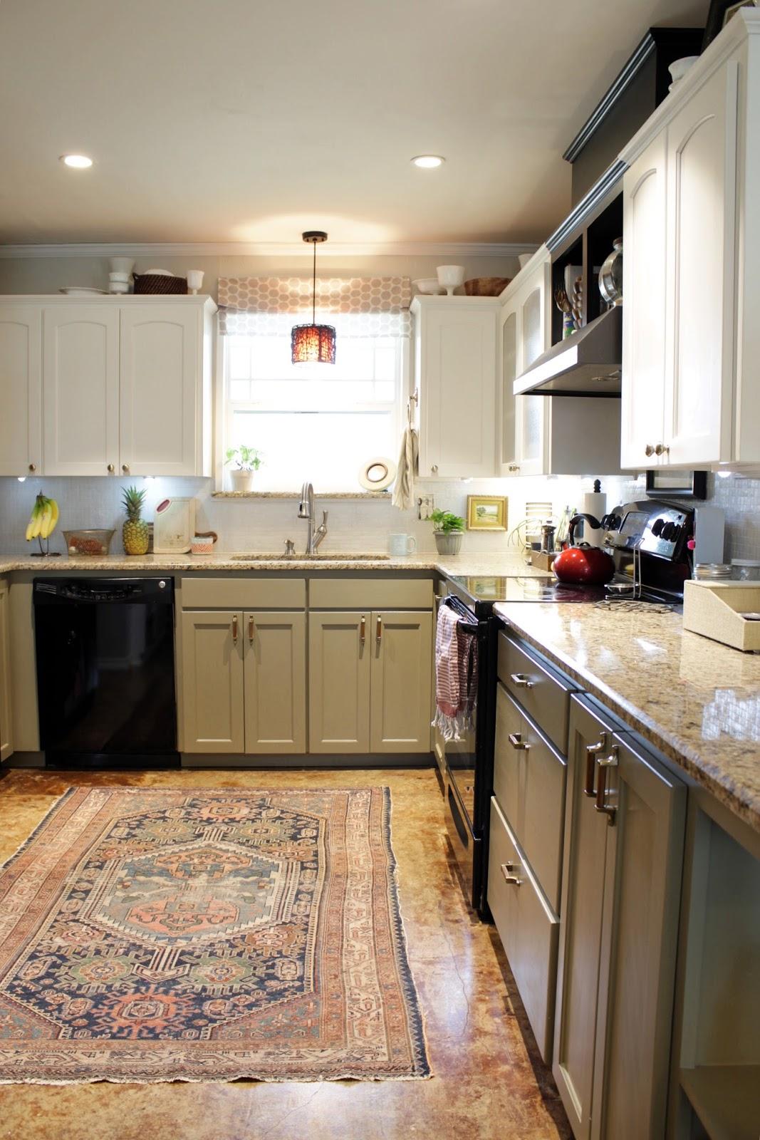 Update Kitchen House Homemade Adding Brass A Quick Kitchen Update
