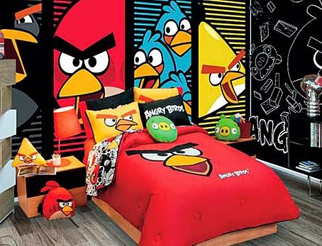 Habitación tema angry birds