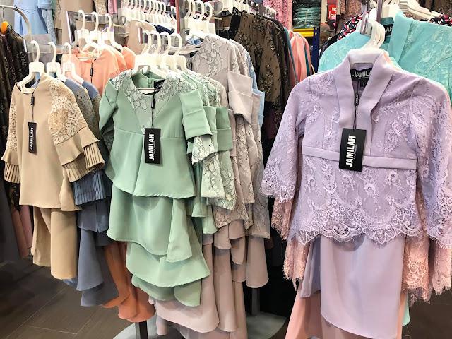 koleksi baju lace anak sedondon dengan ibu busana jamilah