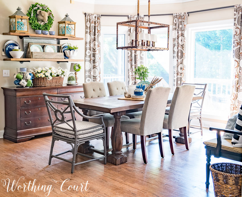 traditional-summer-dining-room